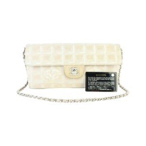 Chanel New Line Quilted East West Classic Flap